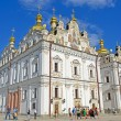Kiev Pechersk Lavra, blue azure sky, Kiev. — Stock Photo #29840625