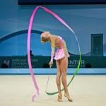Rhythmic Gymnastics World Championships. Gymnast Yana Kudryavtseva (Russia). — Stock Photo #30732005