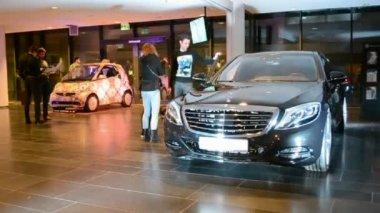 Mercedes Benz Kiev Fashion Days (MBKFD) 2014 in Kiev, Ukraine. — Stock Video