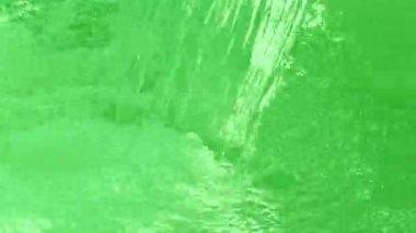 Grönt vatten, — Stockvideo
