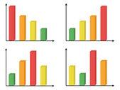 Diagram graph — Stock Vector