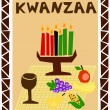 Kwanzaa simple — Stock Vector #4108033