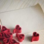 Valentines day background — Stock Photo