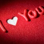Declaration of love — Stock Photo