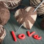 Still life for Valentine — Stock Photo