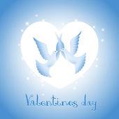 Background on Valentine — Stock Vector