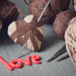 Word love — Stockfoto