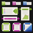 Set of elements of infographics — Stock Vector