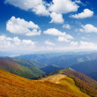 Stock Photo: Clear day in the mountains