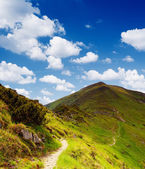 Trail in the mountains — Stock Photo