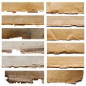 Set of fragments texture — Stock Photo