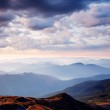 Early morning in the mountains — Stock Photo