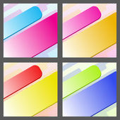 Colour abstract background for design. A vector illustration — Stock Vector