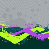 Abstrakt bakgrund för design — Stockvektor