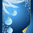 Vector background on the Christmas theme — Stock Vector #29174757
