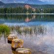 Lake in the Tatra Mountains — Stock Photo