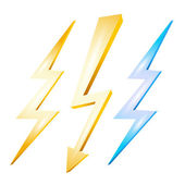 Lightning — Stock Vector