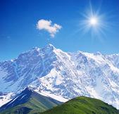 Cimeira de gelados — Fotografia Stock