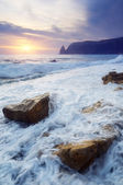 Seascape with waves  — Stock Photo