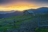 Farm in the mountains  — Stock Photo