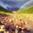 Rainbow in the mountains — Stock Photo #50634209