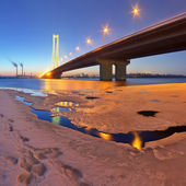 Bridge over the River  — Stock Photo