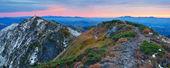 Mountain panorama at dawn  — Stock Photo