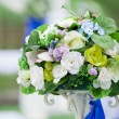 Beautiful wedding flower arrangement — Stock Photo