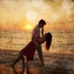 paar bei Sonnenaufgang — Stockfoto #23308272