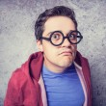 Surprised man in glasses. — Stock Photo #29591169