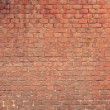 Red brick wall texture — Stock fotografie