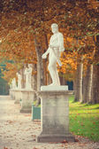 Ancient statues in Versailles — Stock Photo