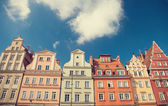 Buildings in Wroclaw — Stock Photo