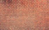 červené cihlové zdi textury — Stock fotografie