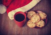 Galletas y café — Foto de Stock
