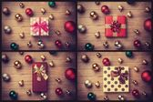 Collage of gifts. — Stock Photo