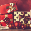 Christmas gifts. — Stock Photo #36044129
