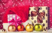 Christmas gifts. — Stock Photo