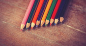 Color pencils. — Photo