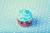 Cream cake and gifts. — Stock Photo