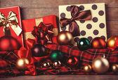 Weihnachtsgeschenke. — Stockfoto