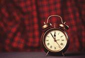 Retro alarm clock. — Stock Photo