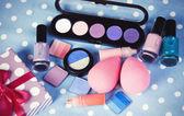 Cosmetics on table. — Stock Photo