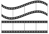 Photo film — Stock Vector