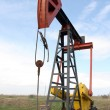 Oil pump jack — Stock fotografie #12457897