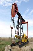 石油泵杰克. — 图库照片