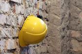 Yellow helmet — Stock Photo