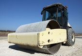 Road roller — Stock Photo