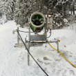 Snow making machine — Stock Photo