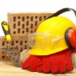 Construction industry concept — Stock Photo